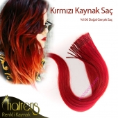 Renkli kaynak saç