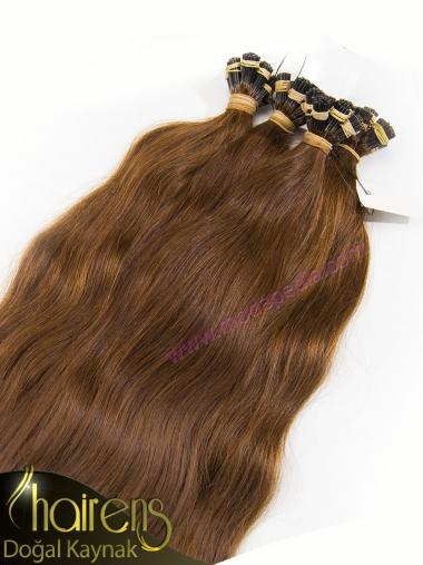 Karamel Doğal Gerçek Kaynak Saç