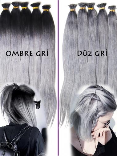 Gri kaynak saç