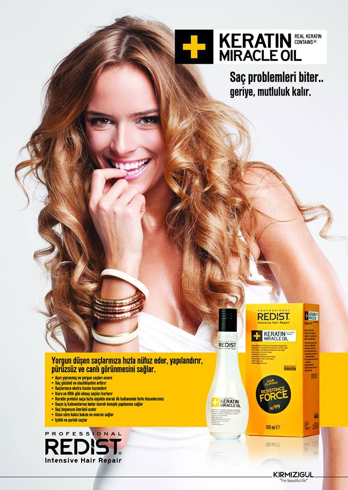 REDIST KERATİN MIRACLE OIL (KERATİN YAĞI) 100 mL